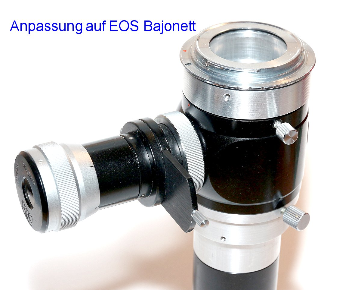 Digitale mikroskop kamera mit c mount anschluss